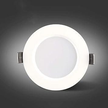 Creativo Antirreflejo Foco empotrable empotrado LED Parrilla ...