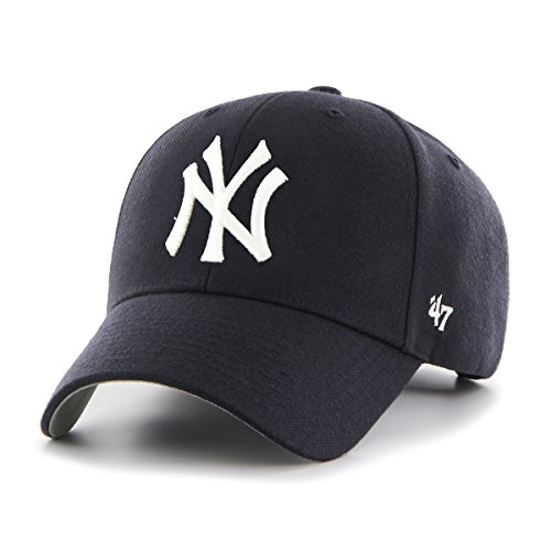 '47 MLB New York Yankees Juke MVP Adjustable Hat, One Size, Black - Mvp Cap