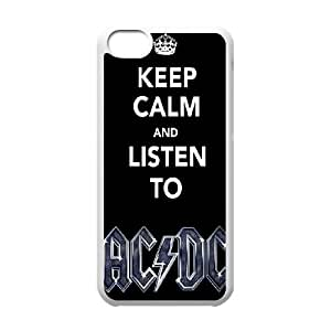 Ice black dc acdc concept art Protective Case 247 For Iphone 5c At ERZHOU Tech Store