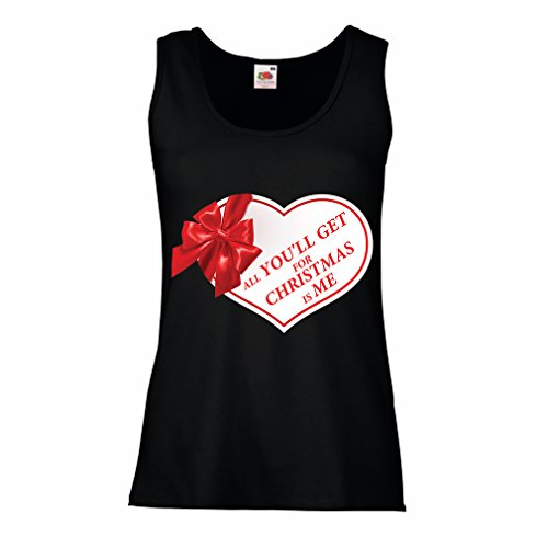 lepni.me Womens Tank Tops, Christmas Vacation Shirt - Holiday Clothes (XX-Large Black Multi Color)]()