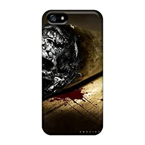 Excellent Iphone 5/5s Cases Covers Back Skin Protector Smoking Kills