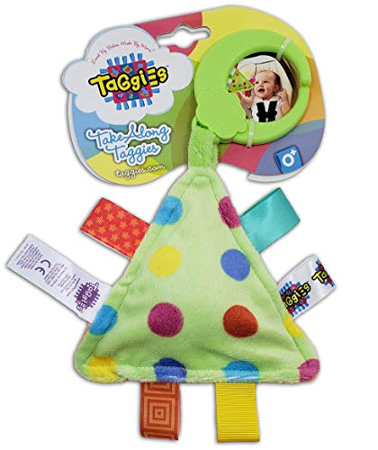 Taggies Take Along Polka Dot Soft Baby Travel Toy