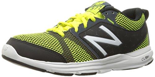 New Balance 577 Training, Zapatillas Deportivas para Interior para Hombre Multicolor (Grey/Yellow 033)