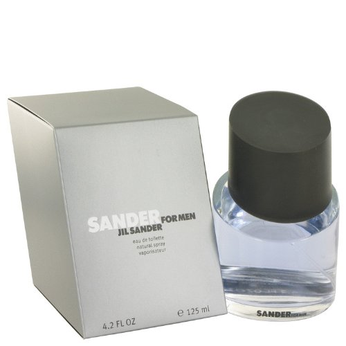Sander by Jil Sander Men's Eau De Toilette Spray 4.2 oz - 100% Authentic (Mint Sander Eau De Toilette)