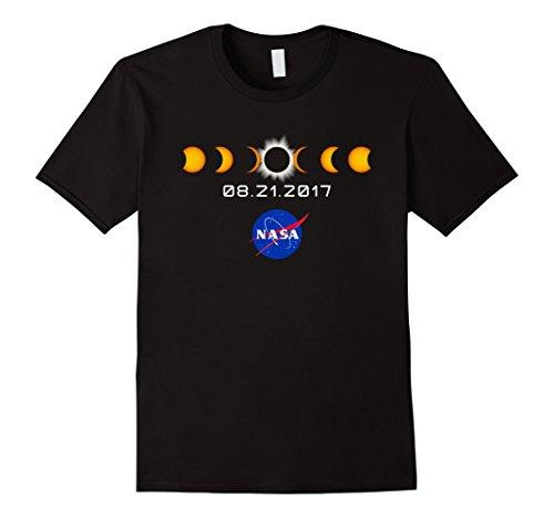 Mens Nasa Total Solar Eclipse T Shirt August 21 2017 2Xl Black