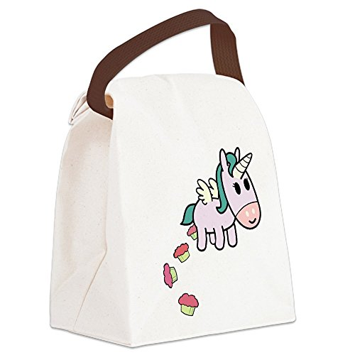 CafePress Unicorn Sweets Canvas Handle