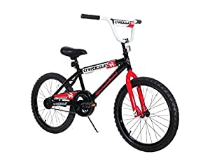 Dynacraft 8109-34ZTJ Boys Throttle Magna Bike, Black/Red/White, 20""