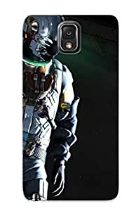 lintao diy Crazinesswith Anti-scratch And Shatterproof Dead Space 3 Phone Case For Galaxy Note 3/ High Quality Tpu Case