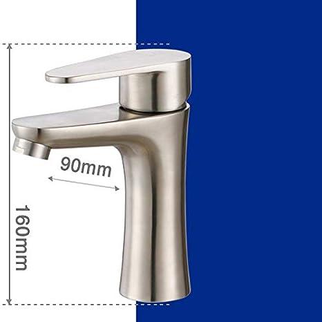 WasserhahnTap 304 - Grifo de baño de Acero Inoxidable para ...