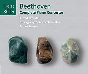 """Beethoven: Complete Piano Concertos (Alfred Brendel: Piano Concertos 1-5 w/Levine, CSO; """"Choral"""" Fantasy, Op. 80 w/ Haitink, LPC, LPO)"""