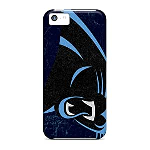 High-end Case Cover Protector For Iphone 5c(carolina Panthers)