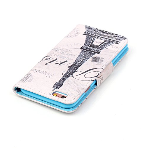 Ecoway Serie pintada Caja del teléfono de moda para Apple iPhone 6s Plus(5.5 Zoll ) - Starry sky Tower