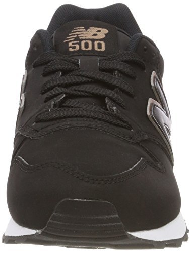 New Gold Black Donna 500 Nero Br Black Balance Sneaker Rose wwfAvO
