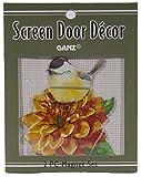cardinals refrigerator magnet - Gnz 3 Inch Wild Bird Metal Screen Door Saver Magnet Set, Choice of Bird (Marigold Chick)