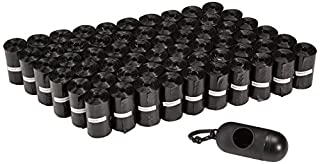 AmazonBasics Dog Waste Bags with Dispenser and Leash Clip - 900-Count (B00NABTGY2) | Amazon Products