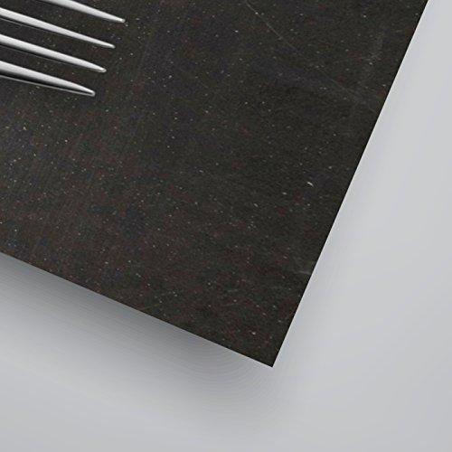 Americanflat Poster Print-Hangry Black-Indigo Sage Design, 11 x 14 , 11 H x 14 W