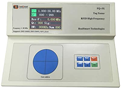 RFID protable tag Tester Auto-Test Frequency and Q Value