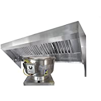 9 Food Truck Concession Trailer Hood System – Includes Hood and Exhaust fan