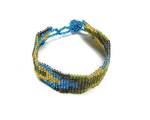 Thick Seed Bead Bracelet - Mia Arrow