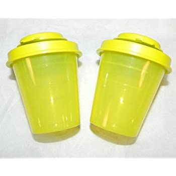 Tupperware Mini Salt and Pepper Shakers
