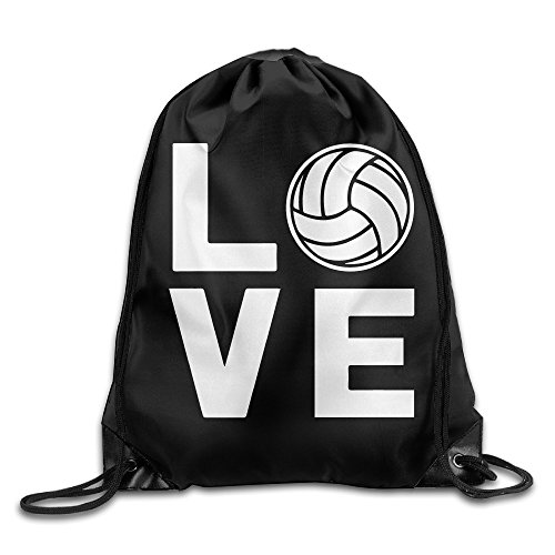 I Love Volleyball For Volleyball Fans Cinch Sack Shoulders Drawstring Backpack