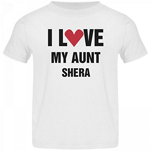She Ra Outfit (I Love Aunt Shera Heart Tee: Jersey Toddler T-Shirt)