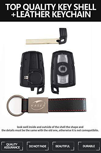 Keyless Carcasa/Llave/para/BMW/-/Funda/Mando/a/Distancia/2 Botones/para/Coche/BMW Serie 1 2 3 Z3 Z4 X3 X5 M5 325i E38 E39 E46