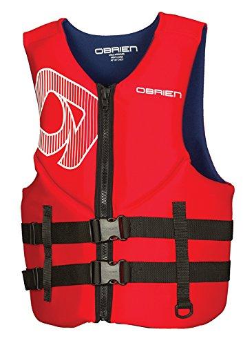 O'Brien Traditional Neo Life Men's Vest, Red, X-Large (Jet Pilot Life Jacket)