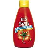 Felix salsa de tomate sin adición de azúcar