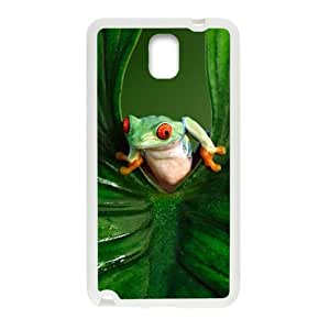 Green leaves and unique frog Cell Phone Case for Samsung Galaxy Note3