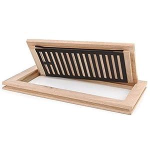 Welland hardwood flush mount floor register vent for 6x12 wood floor register