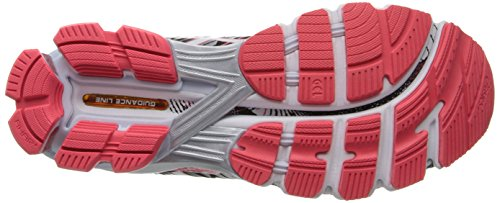 Asics - Zapatillas de running para mujer Black/Snow/Diva Pink