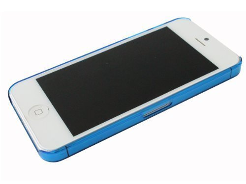 avci Base 4260344980963Frost Crystal étui pour Apple iPhone 5Bleu