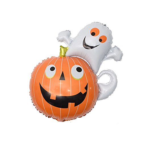 Super Funny Halloween Pumpkin/Ghost Foil Balloon Party Decor Party Supply, Halloween, -