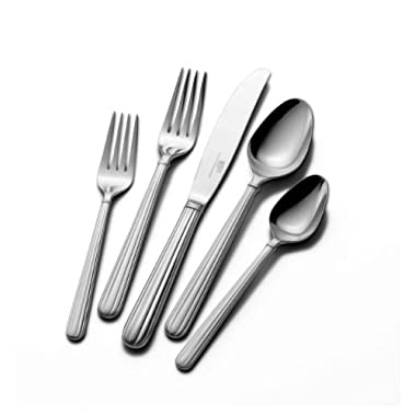 Mikasa Italian Countryside 20-Piece Stainless Steel Flatware Set, Service for 4