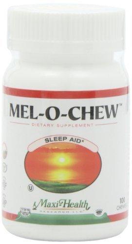Maxi Health Mel-O-Chew - Chewable Melatonin - Sleep Aid - 1 Mg