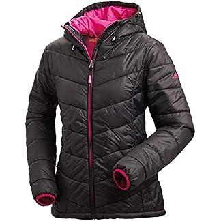 Nordcap Damen Jacke in Daunenoptik, warme Steppjacke in Schwarz, tolle Übergangs- & Winterjacke, 100% Wattierung (Gr: 36-50) 1