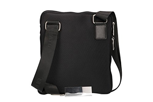 Roncato Man Holder Pouch Men Belt Tablet Black Flat Shoulder Bandolier qpZnC5wEg