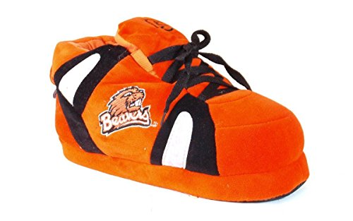 Beavers Sneaker Men's Womens OFFICIALLY Happy State Oregon LICENSED and NCAA Slippers College Feet BqT5T7S