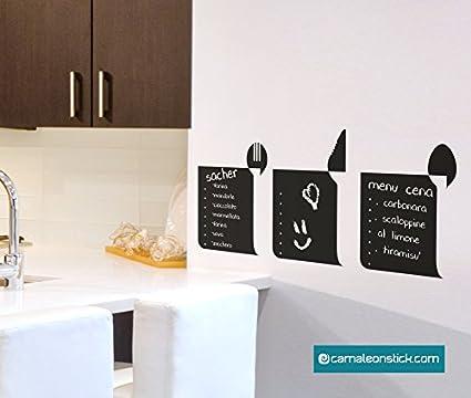 Pizarra Adhesivo Menu recetas - Adhesivo mural notas ...
