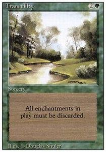 Magic: the Gathering - Tranquility - Revised ()