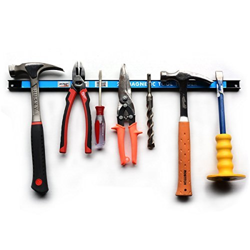 Magnetic Tool Holder 24.75' for Home Improvement Magnetic - Strong Tool Strip For Home, Garage, Ofice Tool Shop. Magnet Tool Organizer