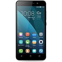 Honor 4X Smartphone, 4G LTE, Dual MICRO-SIM, Display 5.5 Pollici HD, Processore 64-bit octa-core Kirin 620, Fotocamera 13 MP, Memoria 8 GB, Android 4.4, Batteria 3000 mAh, Nero