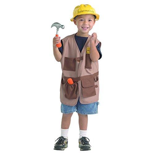 Brand New World Community Helper Construction Worker Dramatic Dress - Dress Community Helper