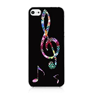 Music Note Joyful with Colorful Aztec Tribal Case Hard Cover for Iphone 6 (4.5)