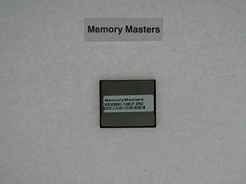 MEM2691-128CF= 128MB Compact Flash Memory for Cisco Router 2691 (MemoryMasters)