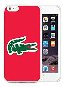 New iPhone 6S Plus Case,Lacoste 4 White iPhone 6S Plus TPU Phone Case