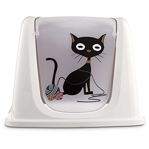 So Phresh Funny Cat Litter Box Privacy Hood, Large ()