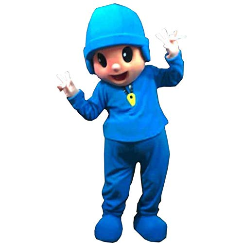 Pocoyo Mascot Costume Character Cosplay Party Birthday -