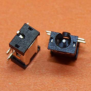 ShineBear 1 Piece 5 SMT Foot Communly Hole Dia 2.5mm Notebook Laptop DC Power Jack DC Power Socket mid Power Jack for Tablet PC,DC-046 Cable Length: Other